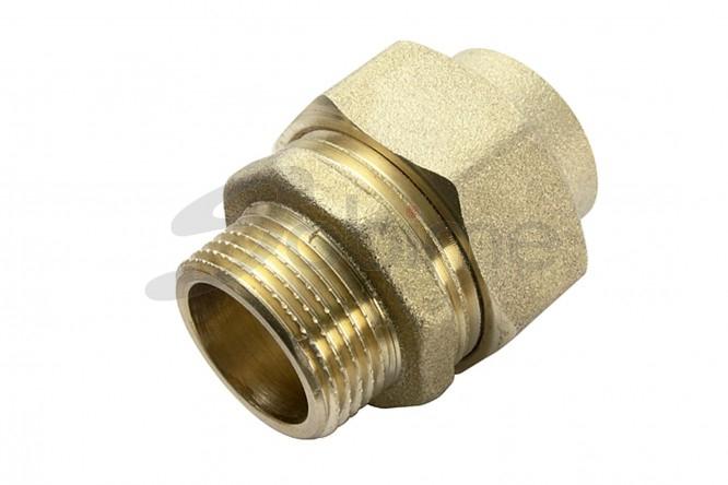 Manchon m/âle 243 GCU /à souder 3//4 x 22 mm