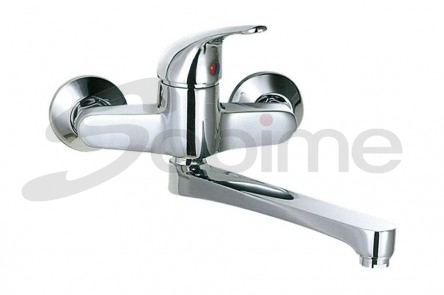 SINGLE HANDLE WALL MOUNTED SINK MIXER LOW SPOUT SM1