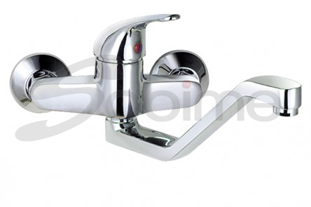 SINGLE HANDLE WALL MOUNTED SINK MIXER HIGH SPOUT SM1