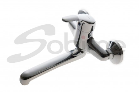 SINGLE HANDLE WALL MOUNTED SINK MIXER LOW SPOUT SM2