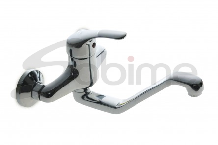 SINGLE HANDLE WALL MOUNTED SINK MIXER HIGH SPOUT SM2