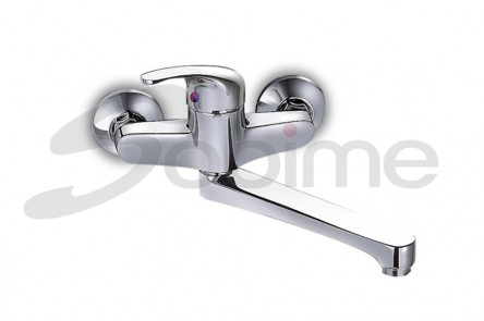 SINGLE HANDLE WALL MOUNTED SINK MIXER LOW SPOUT SM3