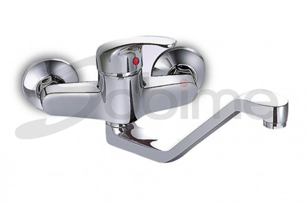 SINGLE HANDLE WALL MOUNTED SINK MIXER HIGH SPOUT SM3