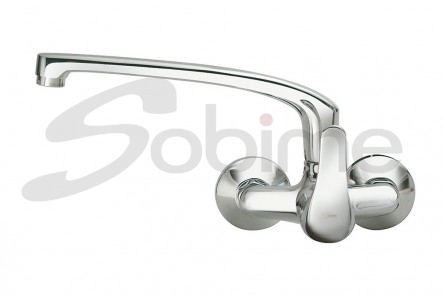 SINGLE HANDLE WALL MOUNTED SINK MIXER SERIES 64 12 SM1