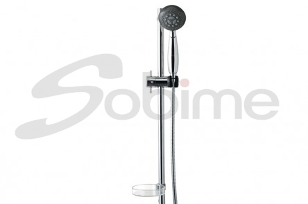 METAL BAR WITH SLIDING SHOWER NILO
