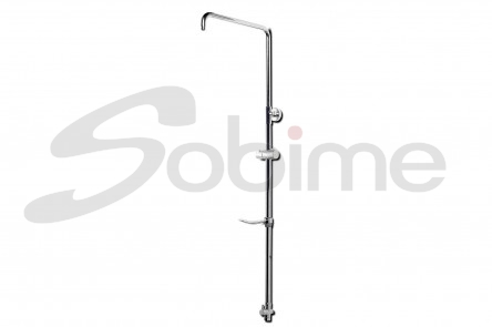 EXTENSIBLE METAL SHOWER COLUMN DIRECT CONNECTION